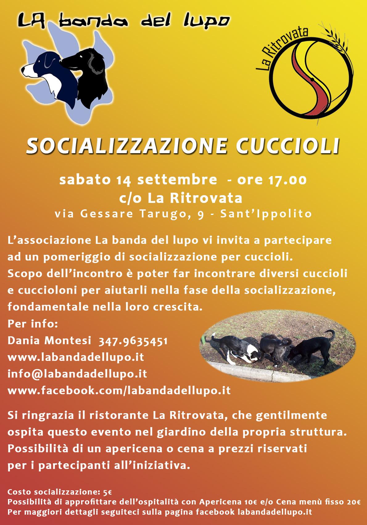Classe di socializzazione - settembre 2013